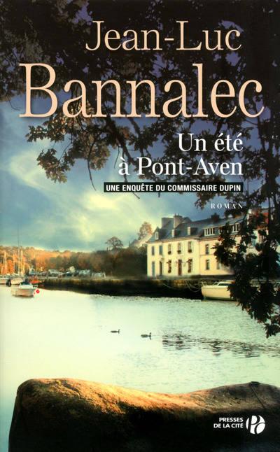 """Couverture du livre de Jean-Luc Bannaec """"Un été à Pont Aven"""""""